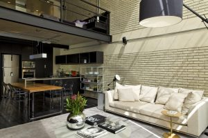 Industrial Loft designet by Diego Revollo