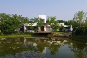 The Lake House designed by Hiren Patel Architects